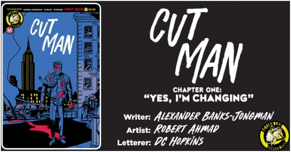 Cut-Man #1 preview feature
