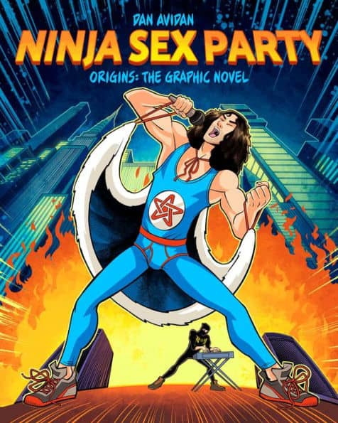 Ninja Sex Party OGN Part I - Origins - Cover A