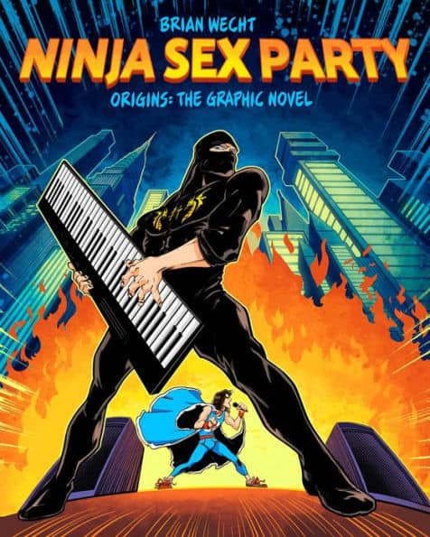 Ninja Sex Party OGN Part I - Origins - Cover B