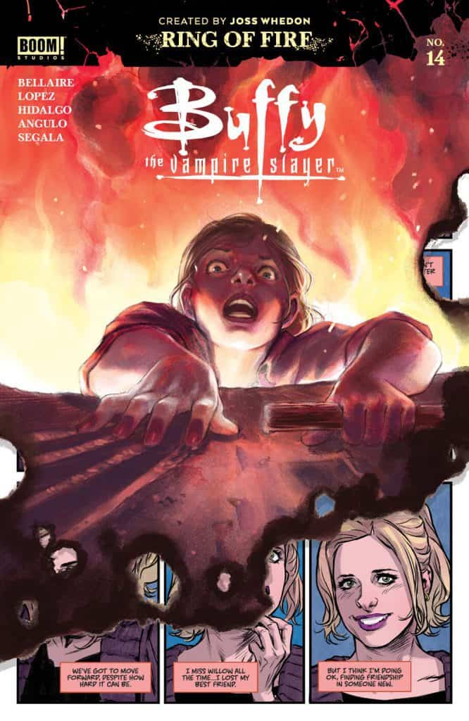 BUFFY THE VAMPIRE SLAYER #14 - Main Cover
