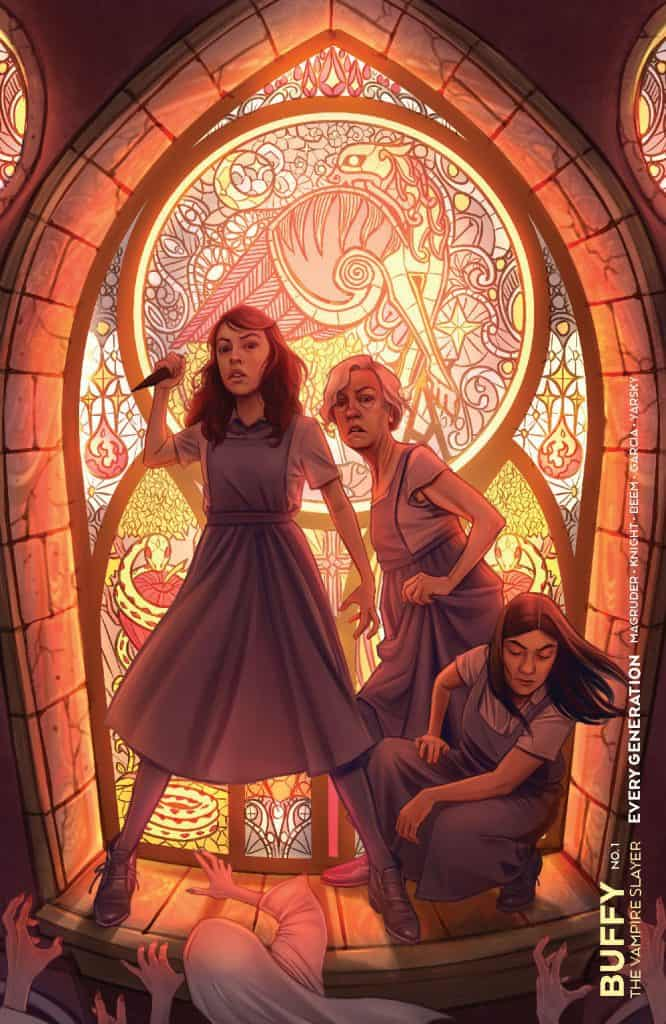 Buffy the Vampire Slayer: Every Generation #1 - Variant Cover