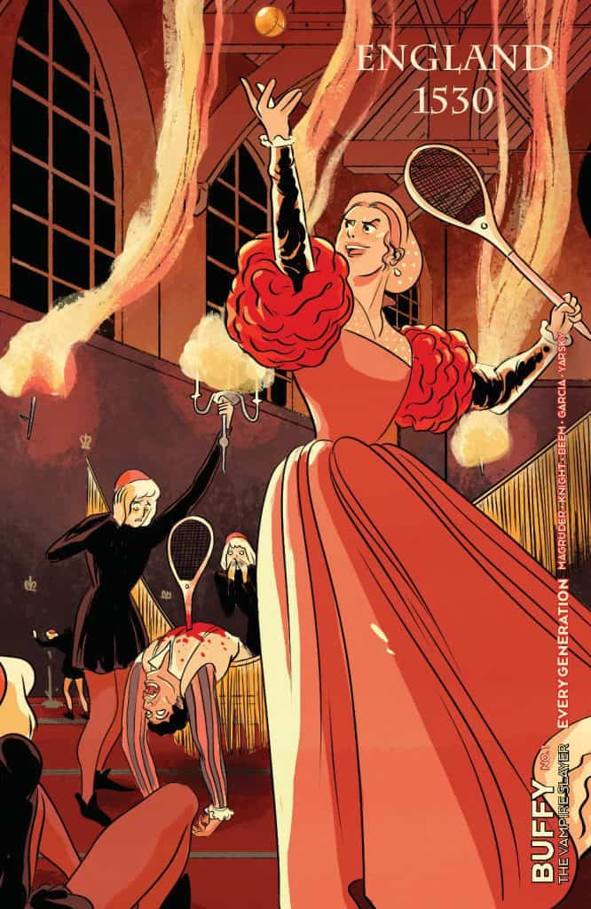 Buffy the Vampire Slayer: Every Generation #1 - Retailer Incentive Variant Cover