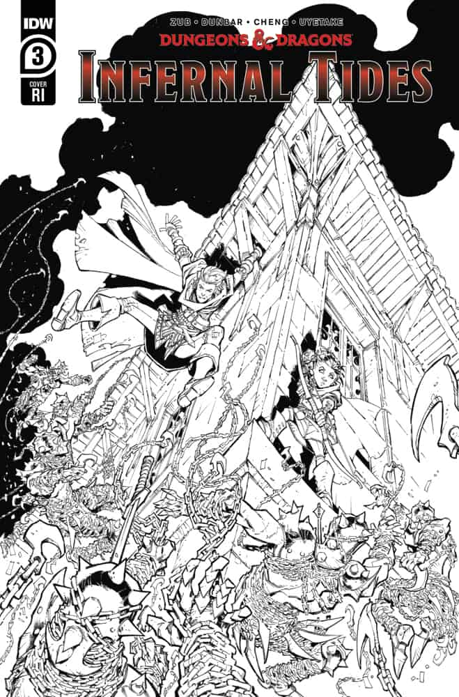DUNGEONS & DRAGONS: Infernal Tides #3 - Retailer Incentive Cover