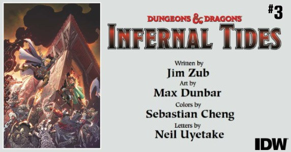 Dungeons & Dragons Infernal Tides #3 preview feature