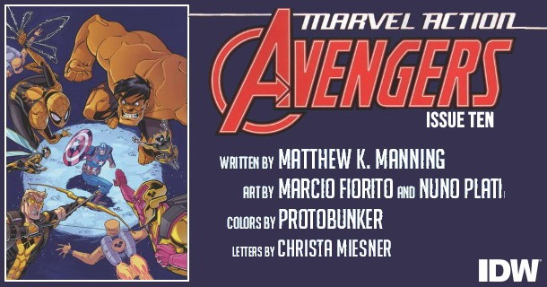 Marvel Action Avengers #10 preview feature