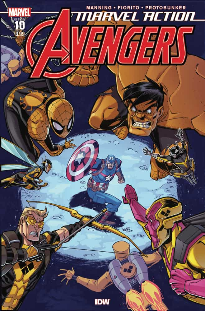 Marvel Action: Avengers #10 - Cover A