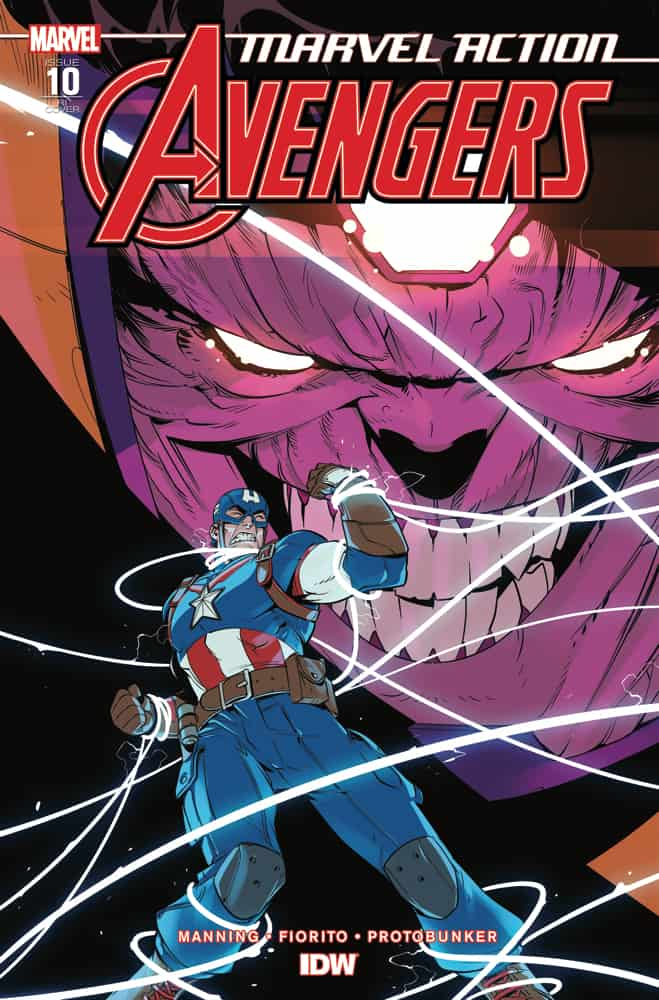 Marvel Action: Avengers #10 - Retailer Incentive Cover