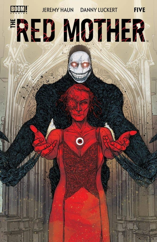 The Red Mother #5 - Main Cover