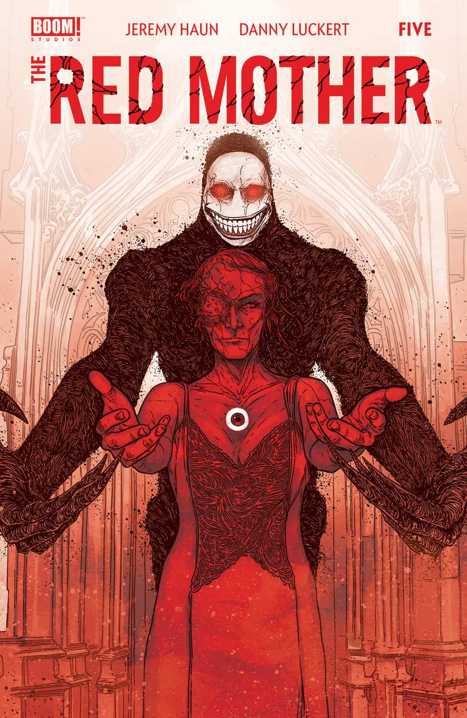 The Red Mother #5 - Red Variant Cover