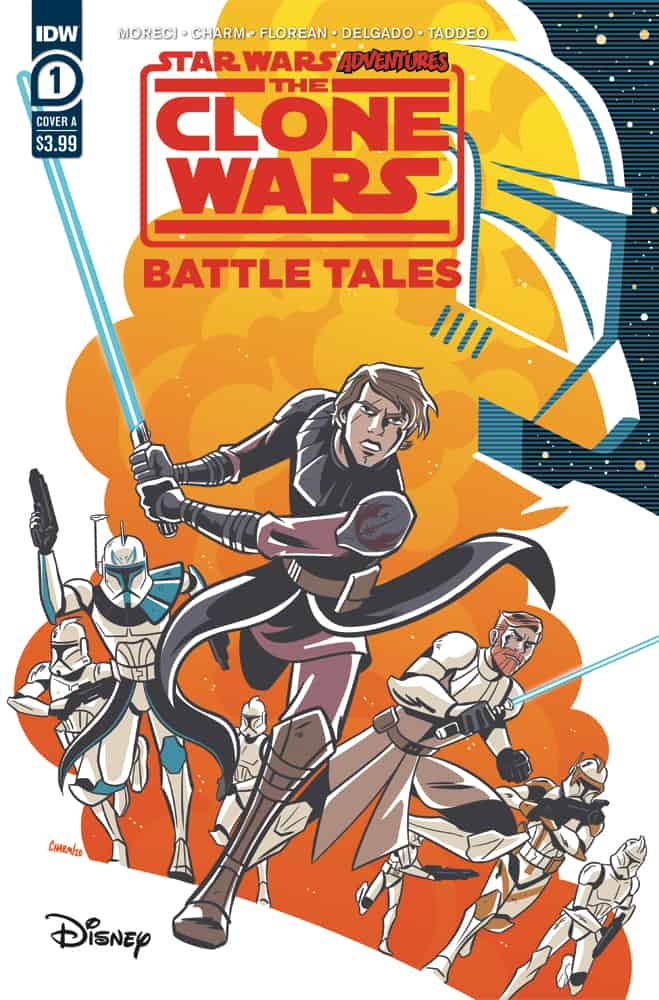 STAR WARS ADVENTURES: CLONE WARS - Battle Tales #1 - Cover A