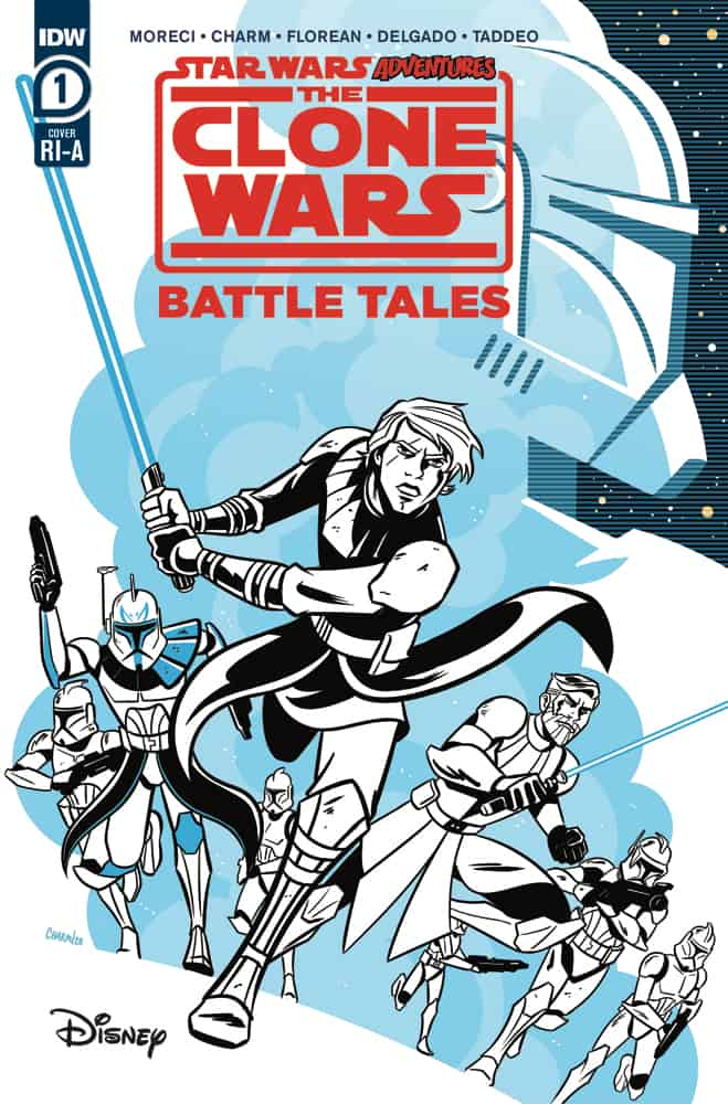 STAR WARS ADVENTURES: CLONE WARS - Battle Tales #1 - Retailer Incentive Cover