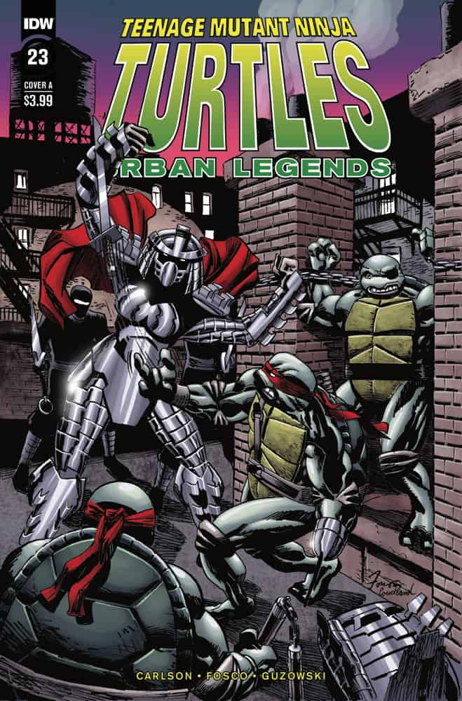 TMNT: Urban Legends #23 - Cover A