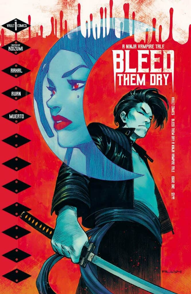 BLEED THEM DRY #1 - Cover A