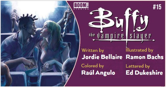 Buffy the Vampire Slayer #15 preview feature