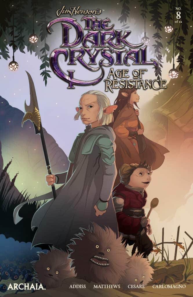 Jim Henson's The Dark Crystal: Age of Resistance #8 - Main Cover