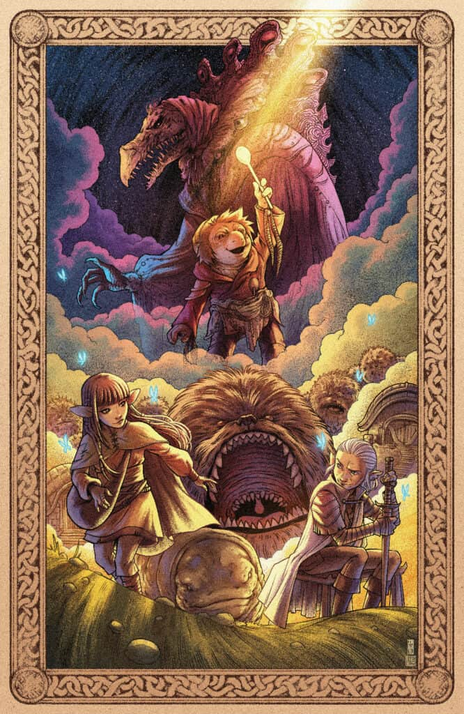 Jim Henson's The Dark Crystal: Age of Resistance #8 - Unlocked Retailer Variant Cover
