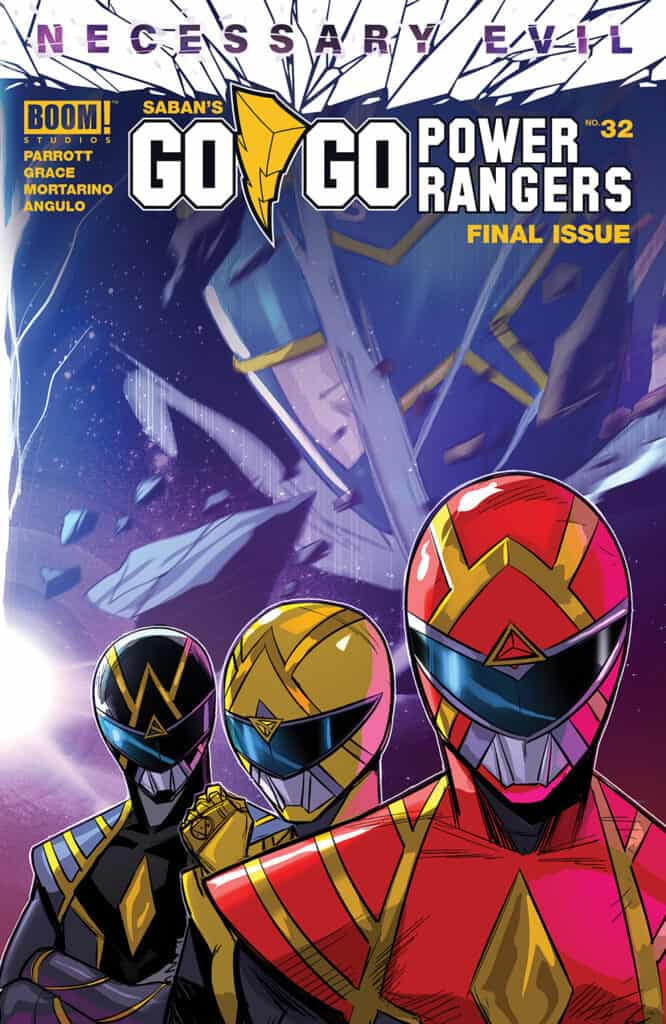 Saban's Go Go Power Rangers #32 - Main Cover