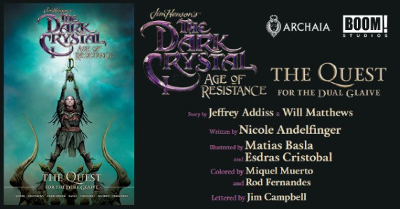 Jim Henson's THE DARK CRYSTAL Age of Resistance Vol. 1 HC preview feature