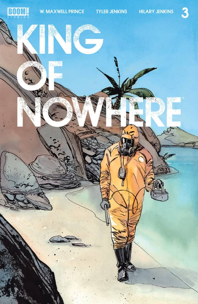 KING OF NOWHERE #3 - Cover A