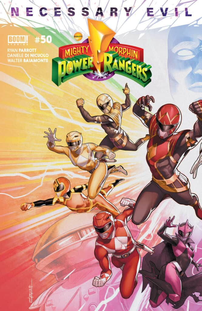 Mighty Morphin Power Rangers #50 - Cover A (Connecting)