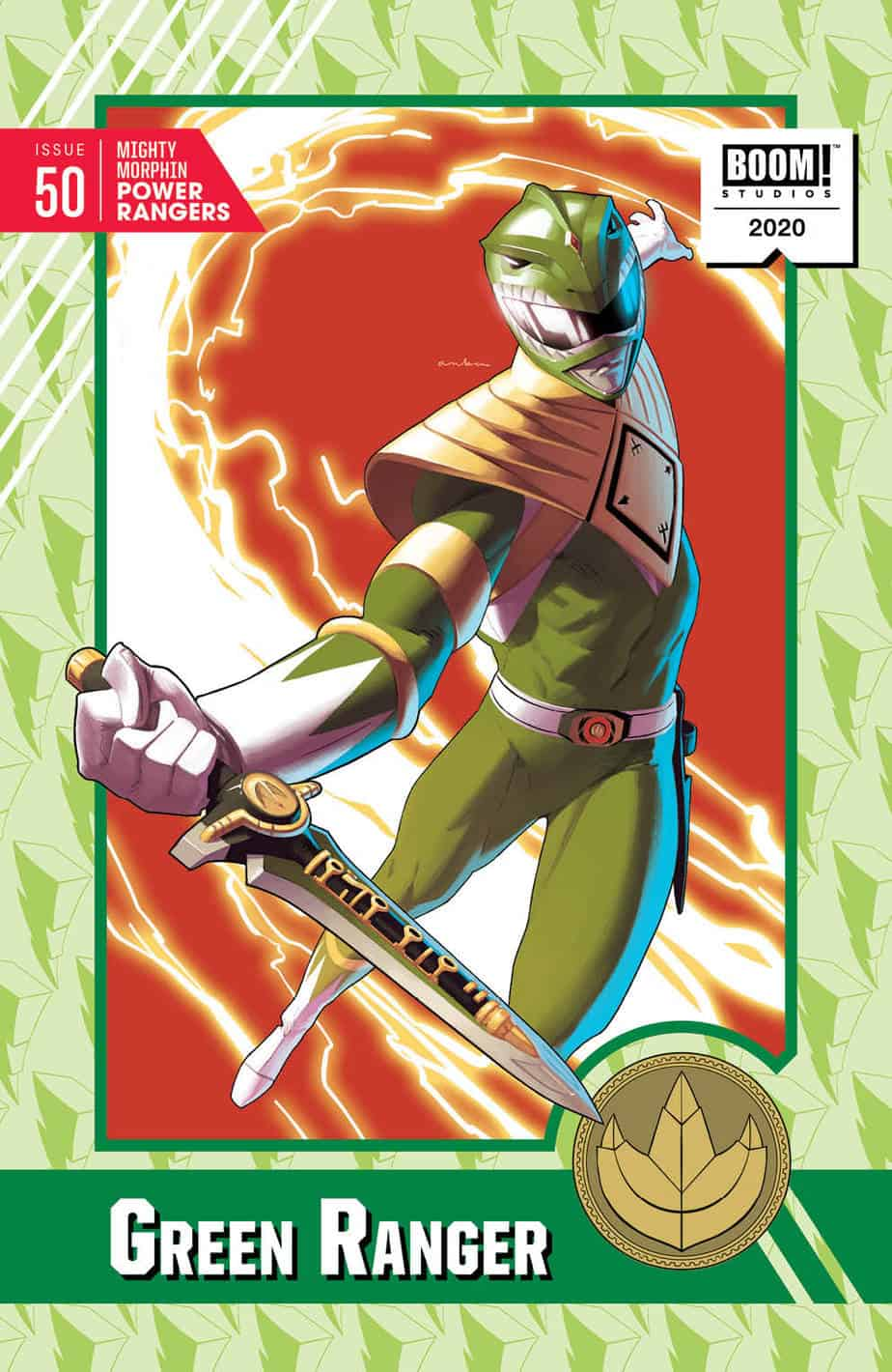 Mighty Morphin Power Rangers #50 - Trading Card Variant