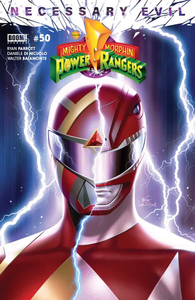 Mighty Morphin Power Rangers #50 - Variant Cover