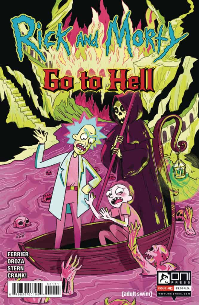 RICK AND MORTY GO TO HELL #1 - Cover C