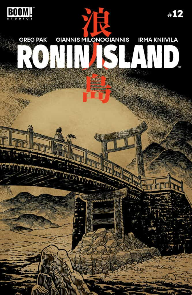 Ronin Island #12 - Preorder Cover