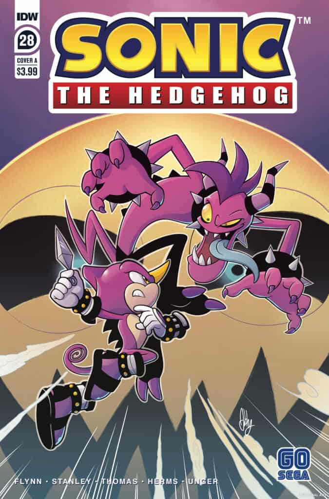 Sonic the Hedgehog #28 - Cover A