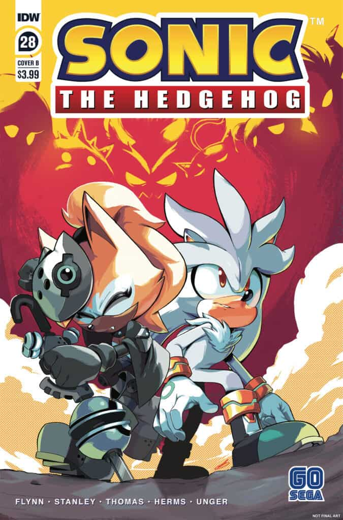 Sonic the Hedgehog #28 - Cover B
