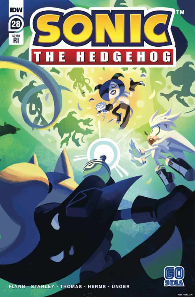 Sonic the Hedgehog #28 - Retailer Incentive Cover