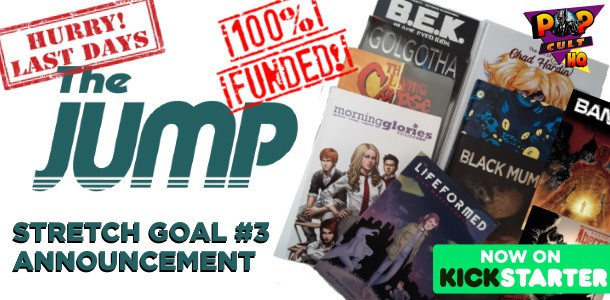 THE JUMP Stretch Goal #3 feature