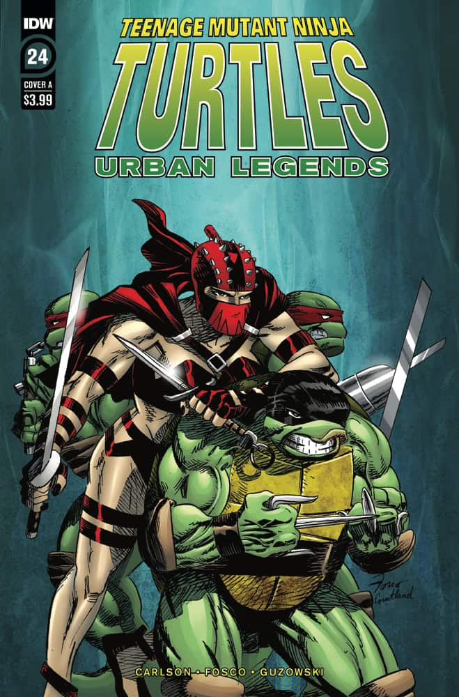 TMNT: Urban Legends #24 - Cover A