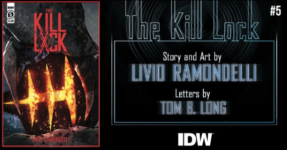 The Kill Lock #5 preview feature