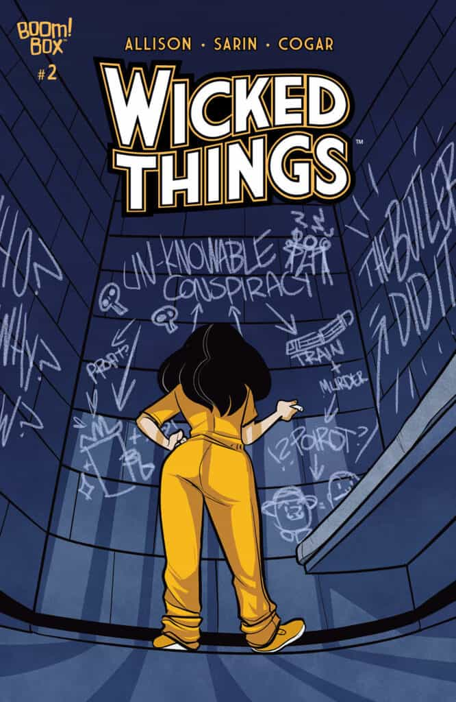 WICKED THINGS #2 - Main Cover