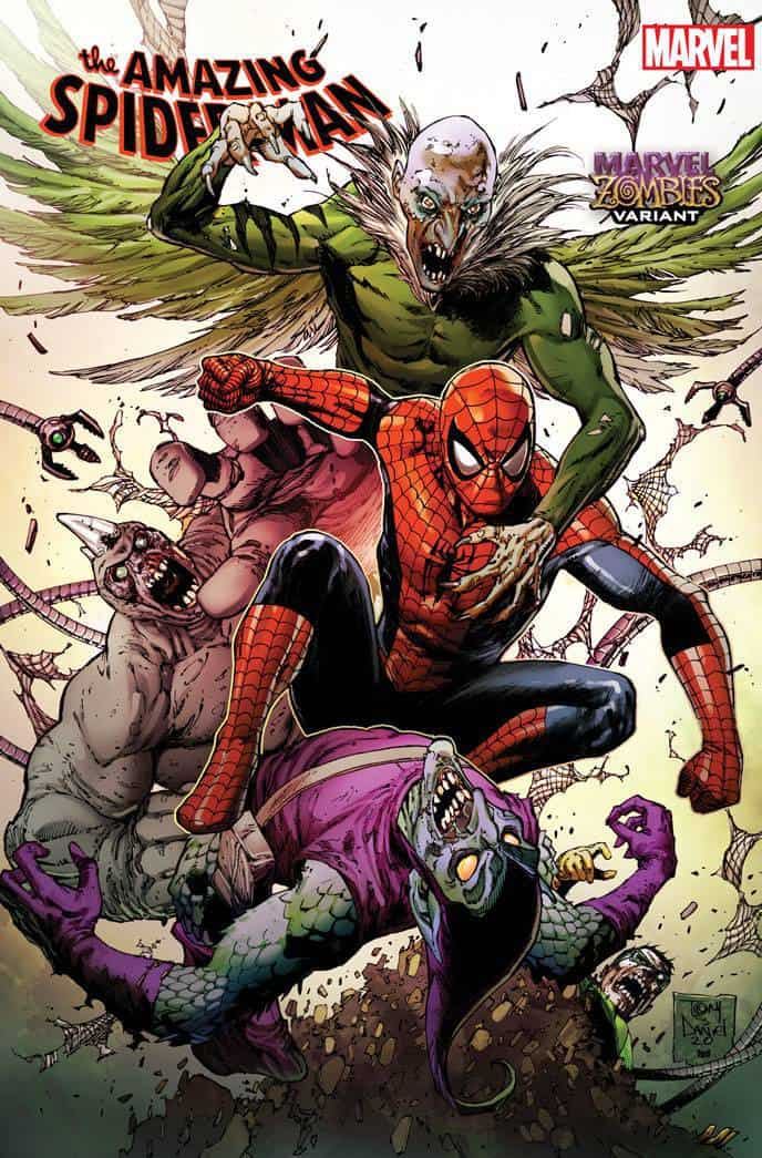 AMAZING SPIDER-MAN (2018) #44 - Cover B