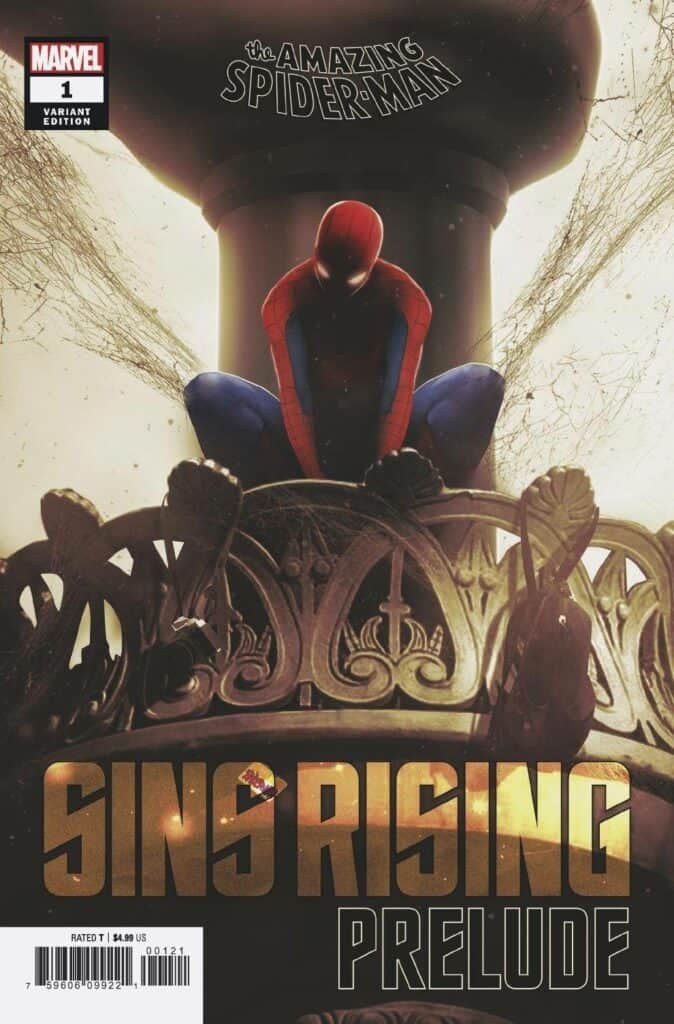 AMAZING SPIDER-MAN: Sins Rising Prelude #1 - Cover B