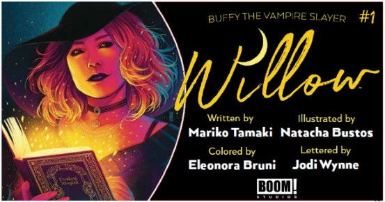 Buffy the Vampire Slayer Willow #1 preview feature