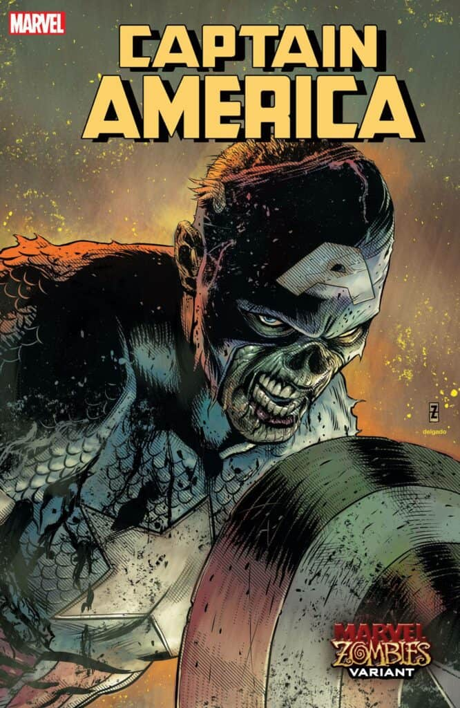 CAPTAIN AMERICA #21 - Cover B