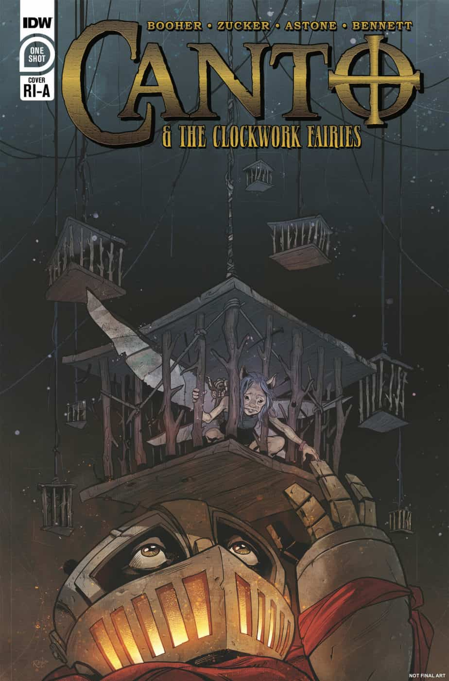 Canto and the Clockwork Fairies #1 - Retailer Incentive A