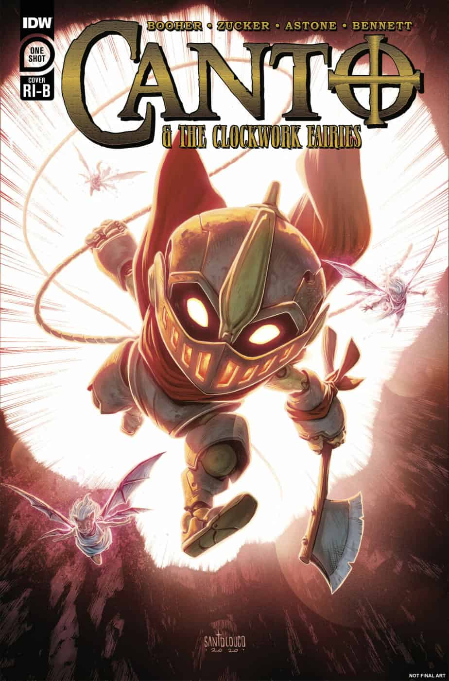 Canto and the Clockwork Fairies #1 - Retailer Incentive B