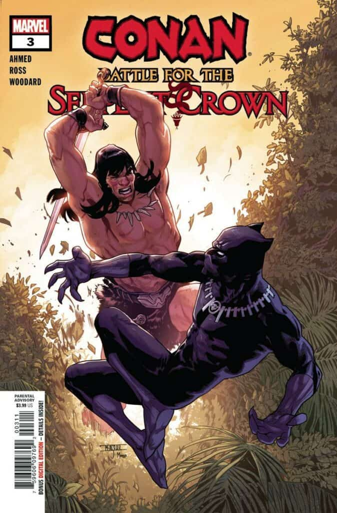 Conan: Battle For The Serpent Crown #3 - Cover A