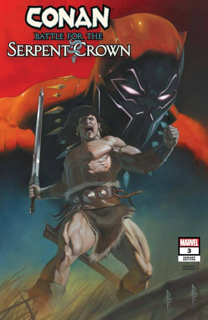 Conan: Battle For The Serpent Crown #3 - Cover B