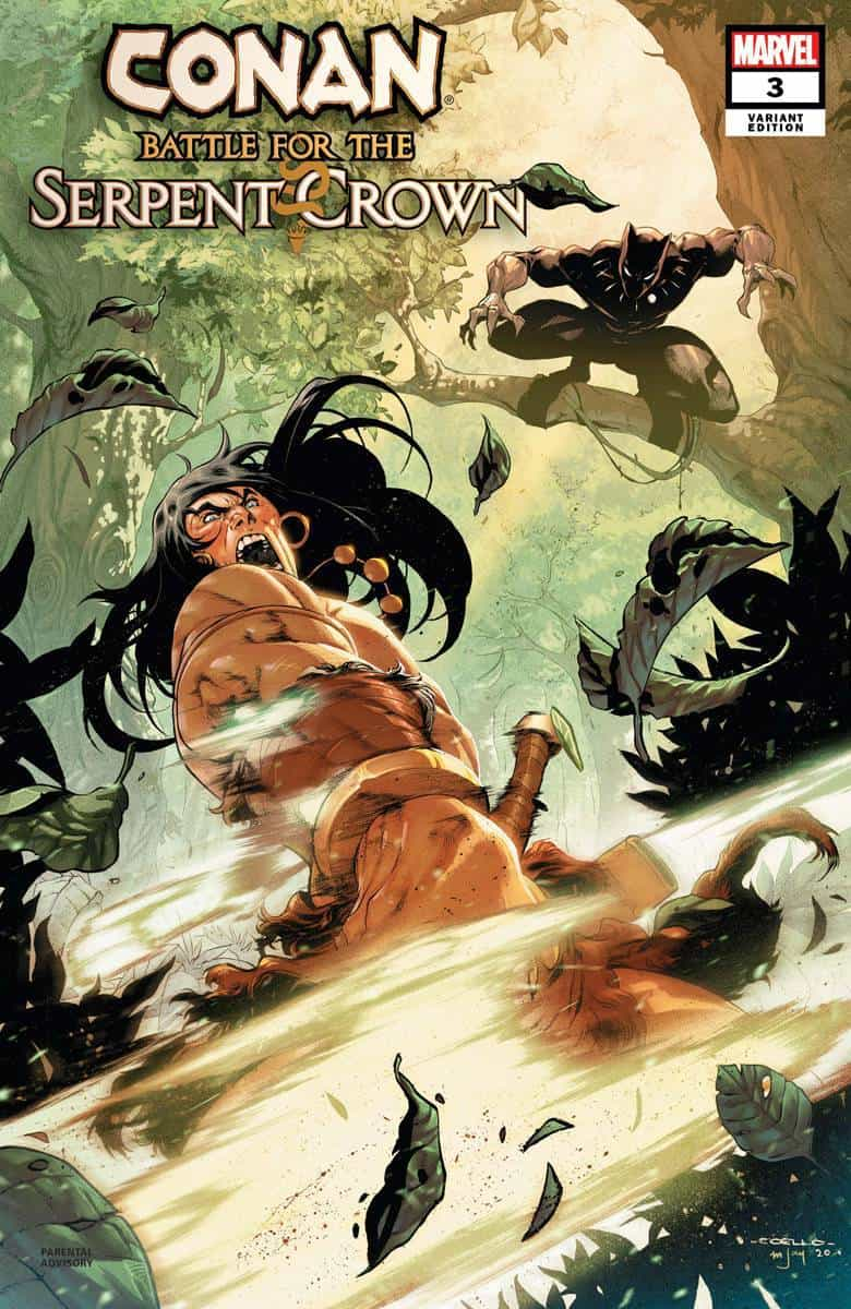 Conan: Battle For The Serpent Crown #3 - Cover C