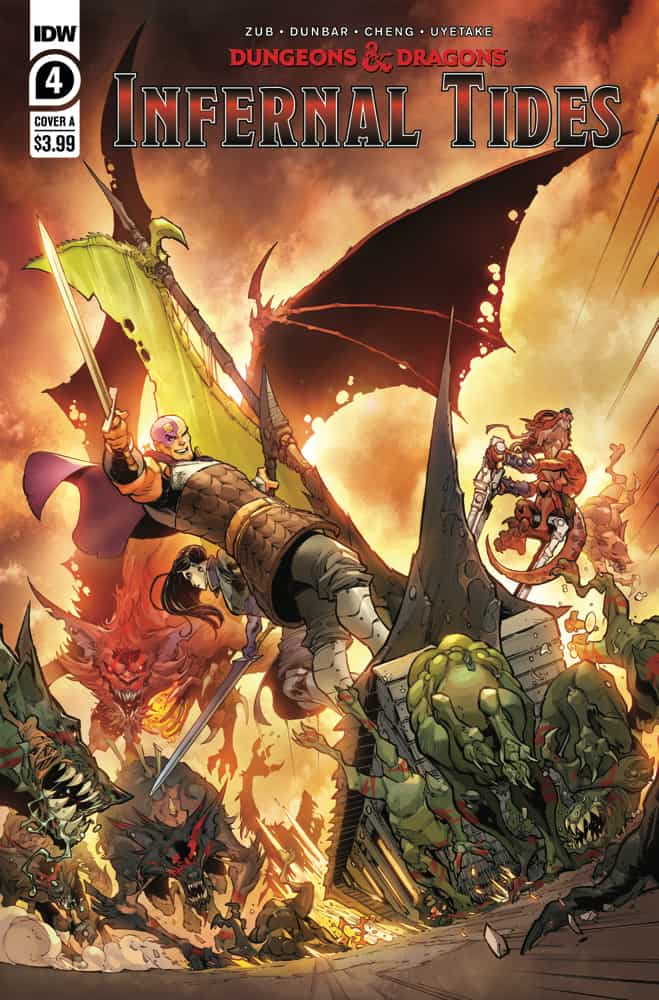 DUNGEONS & DRAGONS: Infernal Tides #4 - Cover A
