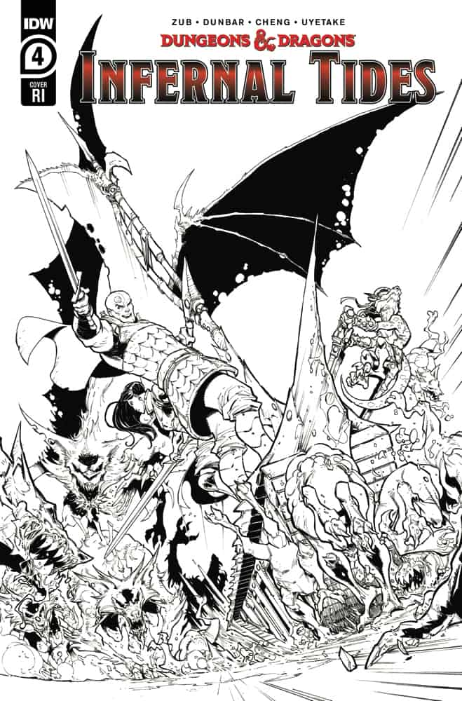 DUNGEONS & DRAGONS: Infernal Tides #4 - Retailer Incentive Cover