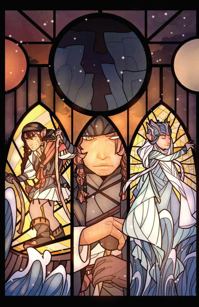 THE DARK CRYSTAL: Age of Resistance #9 - Connecting Variant Cover