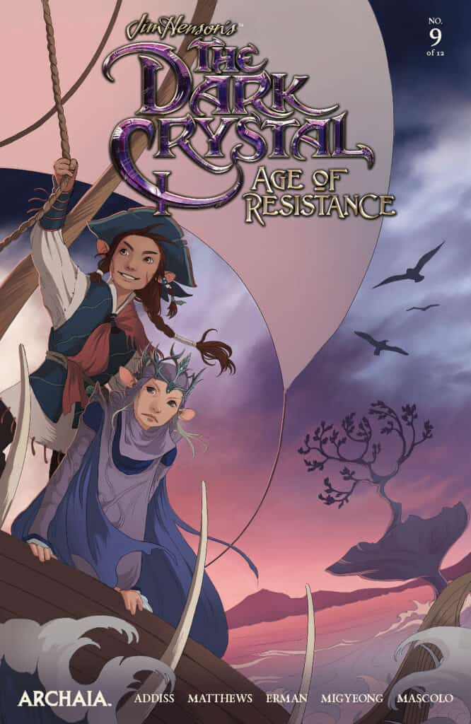 THE DARK CRYSTAL: Age of Resistance #9 - Main Cover