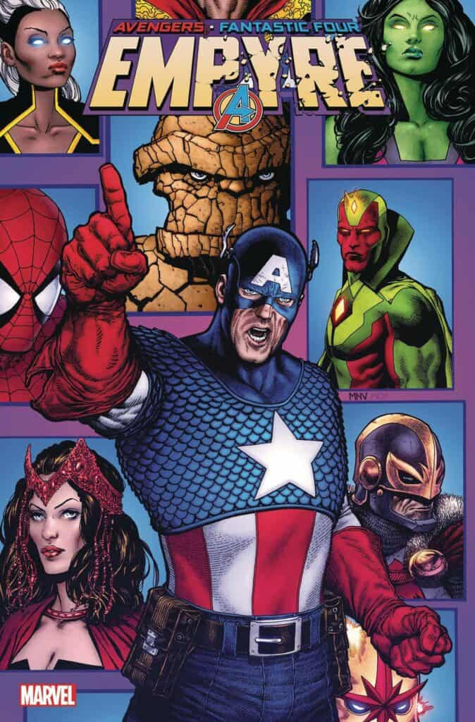 EMPYRE: Avengers #1 - Cover A