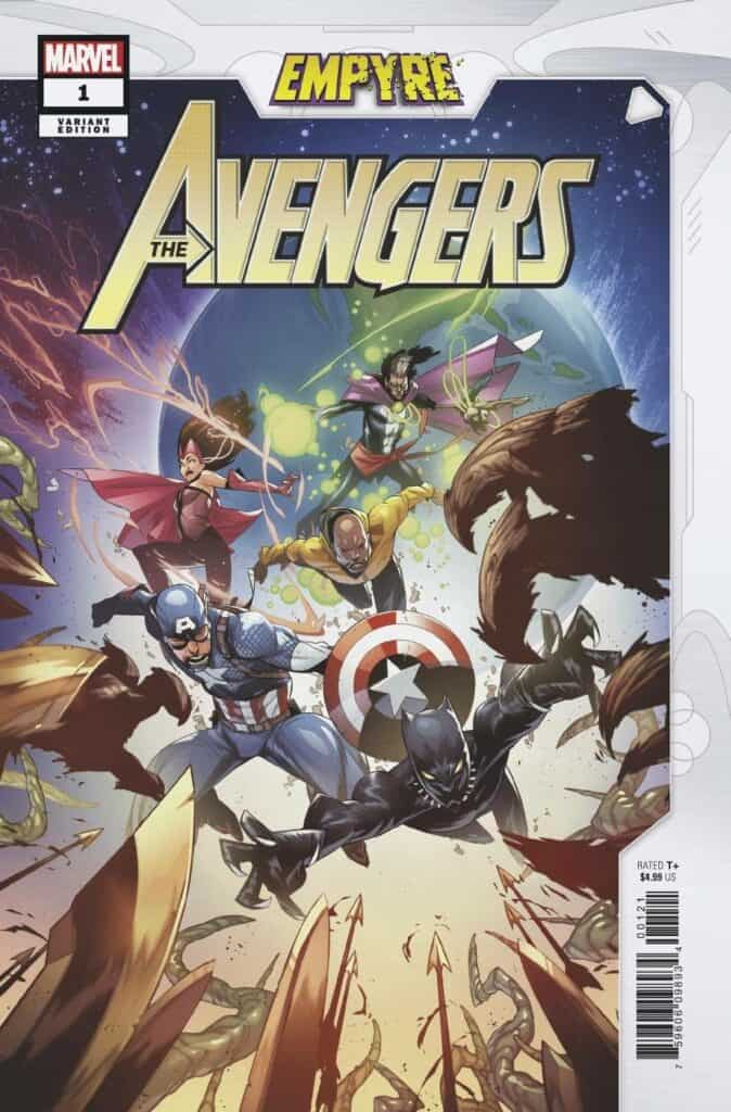 EMPYRE: Avengers #1 - Cover B